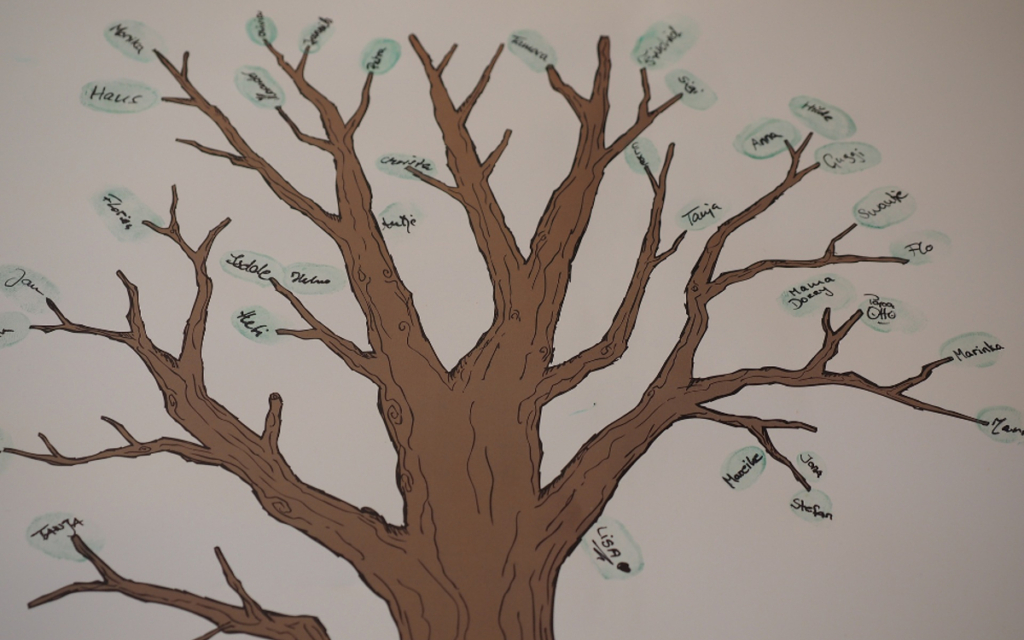 family tree workshop activity
