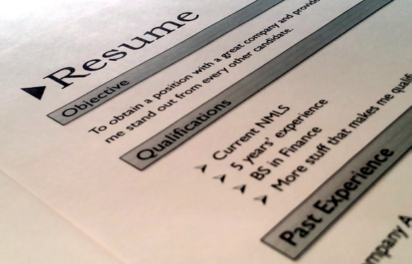 resume writing natural abilities tip