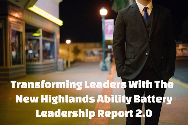 Highlands Ability Battery leadership report