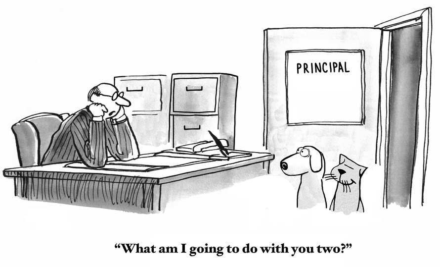 school leadership joke