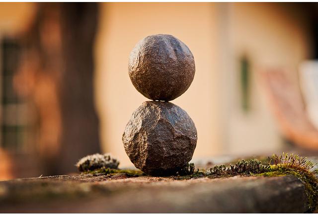 rocks balance work
