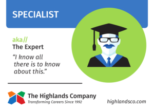 specialist and generalist