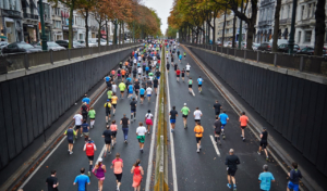 natural ability to think in short term or long term, like runners