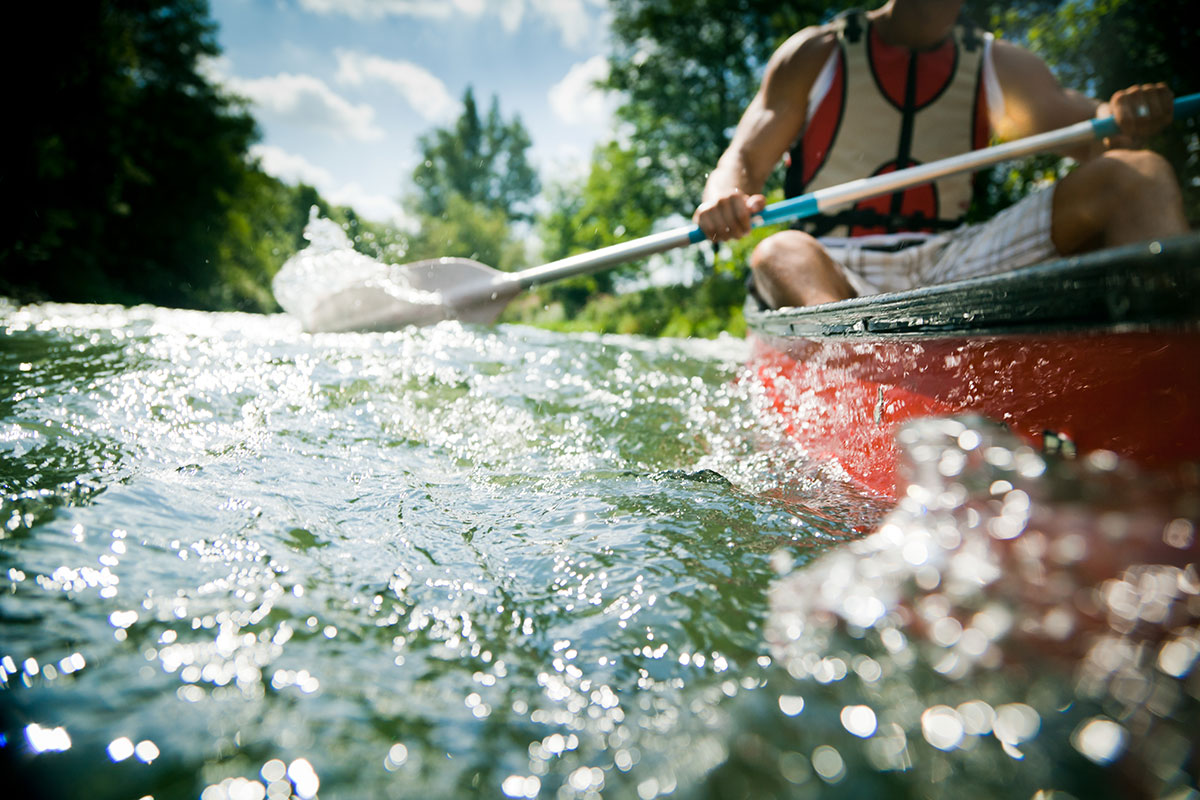 Are You Paddling With the Flow? Or Against It?
